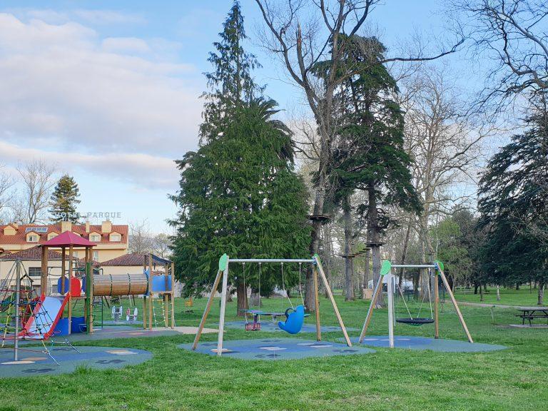 parque infantil alceda aventura